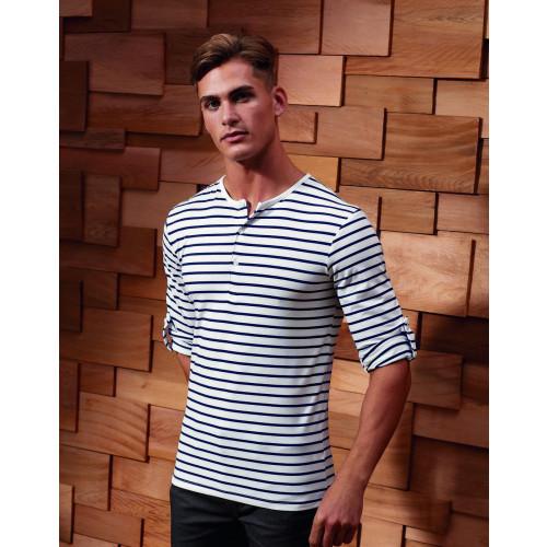 Long John Roll Sleeve T-Shirt