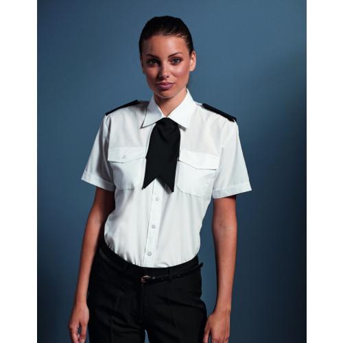 Ladies Short Sleeve Pilot Shirt