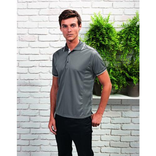 Premier Contrast Coolchecker® Polo Shirt