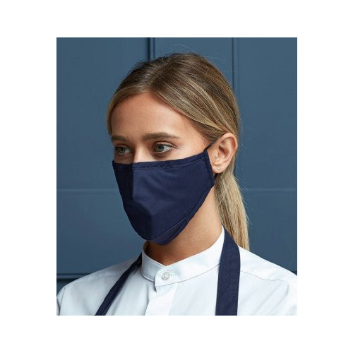 Premier PPE Protective 3 Layer Fabric Mask