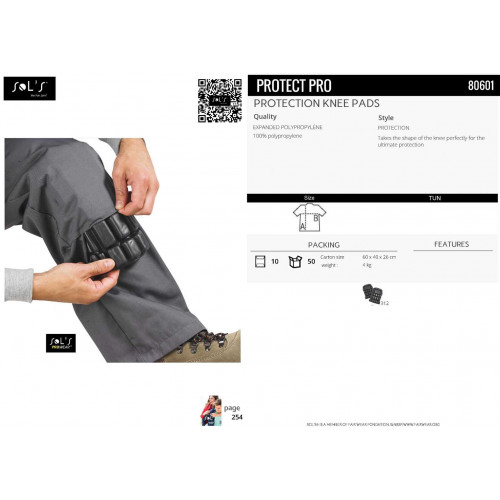 SOL'S PROTECT PRO Protection Knee Pads