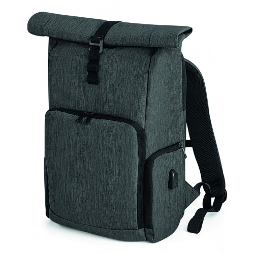 Q-TECH CHARGE ROLLTOP BACKPACK