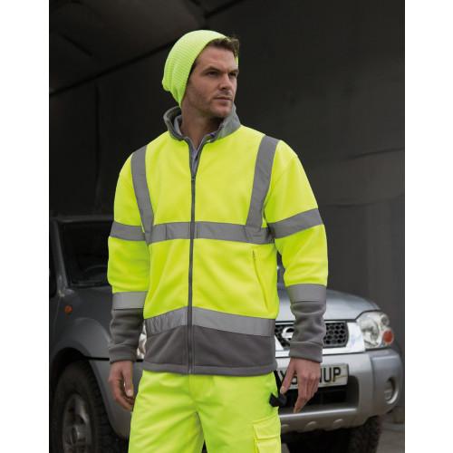 Result Safe-Guard Hi-Vis Micro Fleece Jacket