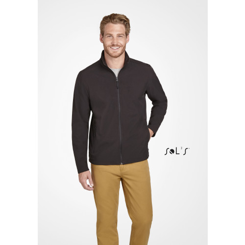 SOL'S RACE Men's Soft Shell Zip Jacket