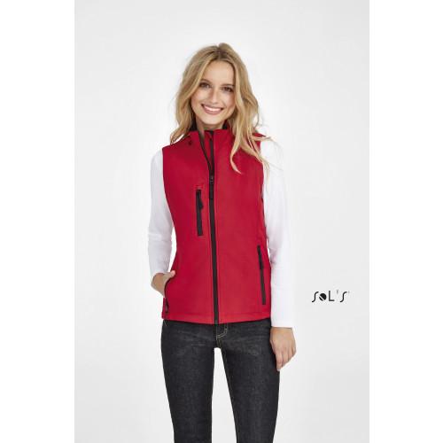 SOL'S RALLYE Women's Sleeveless Soft Shell Jacket