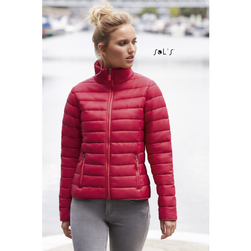 SOL'S RIDE Women's Light Padded Jacket