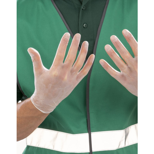 Reuslt Protect Cir Vinyl Gloves (100 pack)