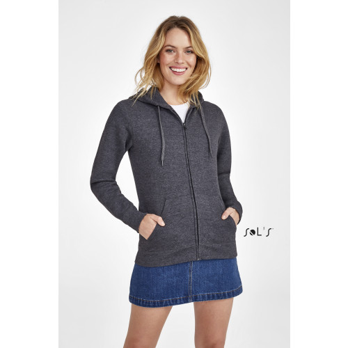 SOL'S SEVEN Women's Jacket with lined hood