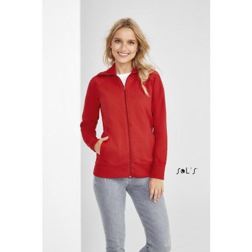 SOL'S SODA Women's Zipped Jacket