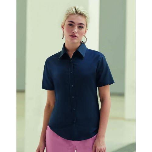 Ladies Oxford Short Sleeve Shirt