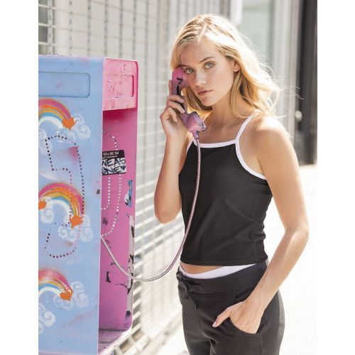 LADIES FEEL GOOD STRAPPY VEST