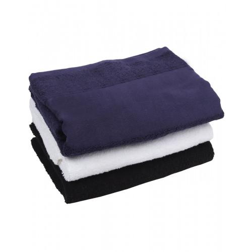 PRINTABLE BORDER BATH TOWEL