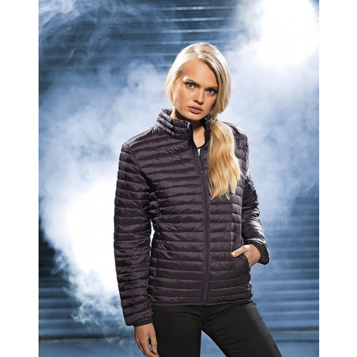 2786 LADIES TRIBE FINELINE PADDED JACKET