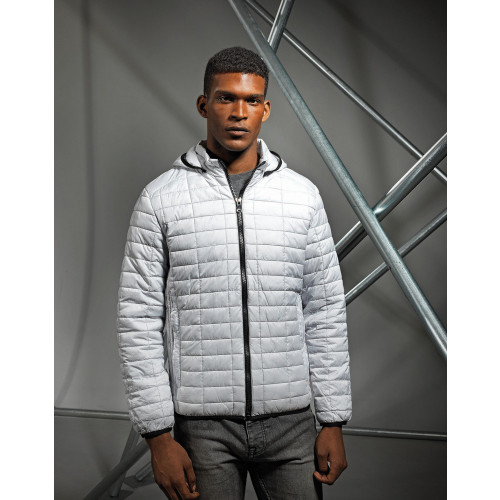 MENS HONEYCOMB HOODED JACKET