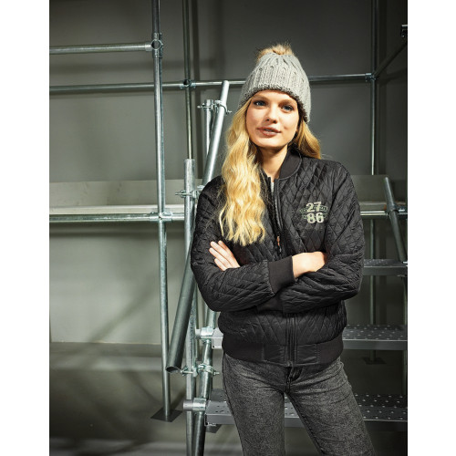 WOMENS QUILTED FLIGHT JACKET