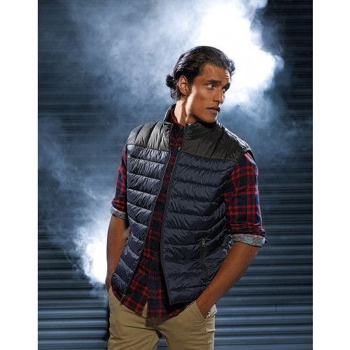 MENS DOMAIN TWO TONE GILET