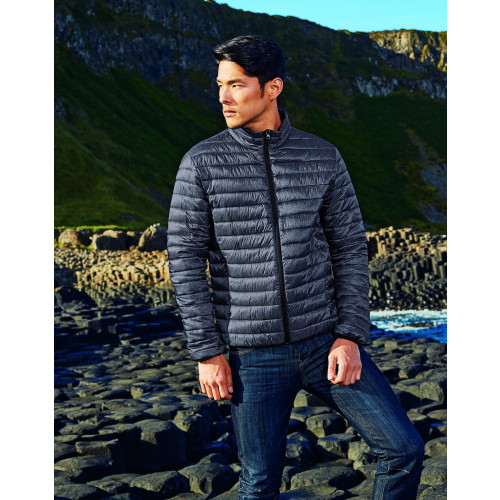 2786 MELANGE PADDED JACKET