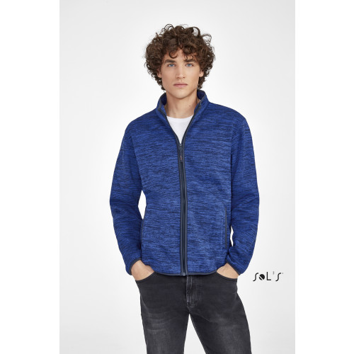 SOL'S TURBO Knitted Fleece Jacket