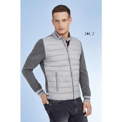 SOL'S VOLCANO Unisex Two-material Jacket