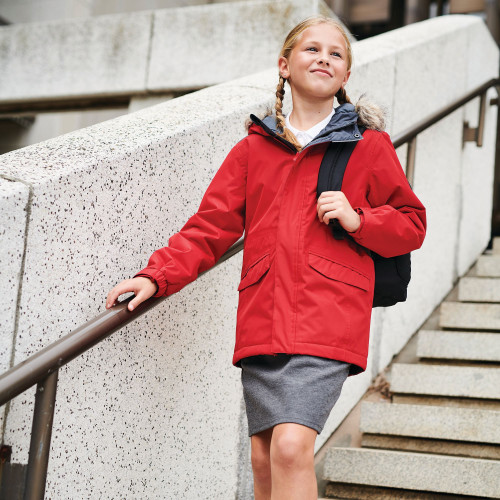 Kids Cadet Reflector Insulated Jacket