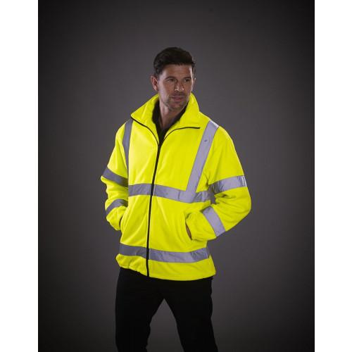 Hi-Vis Heavyweight Fleece Jacket