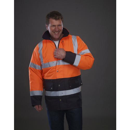 Hi-Vis Two Tone Motorway Jacket