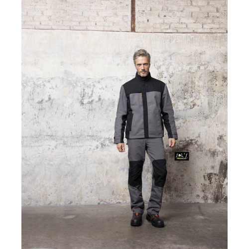 SOL'S METAL PRO Men's Two-colour Workwear Trousers