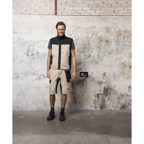 SOL'S MISSION PRO Men's Two-colour Workwear Bodywarmer