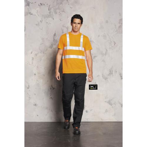 SOL'S MERCURE PRO T-shirt with Hi-Vis Strips