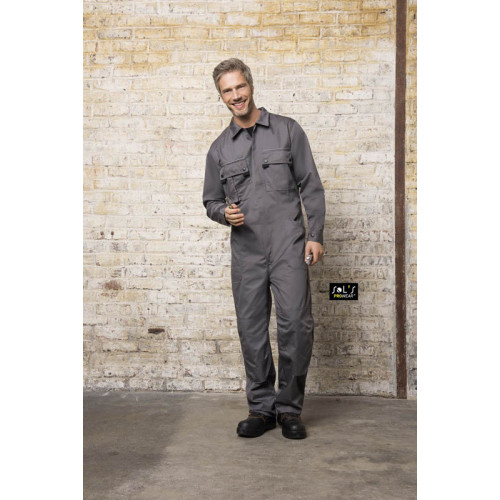 SOL'S SOLSTICE PRO Workwear Overall with simple Zip