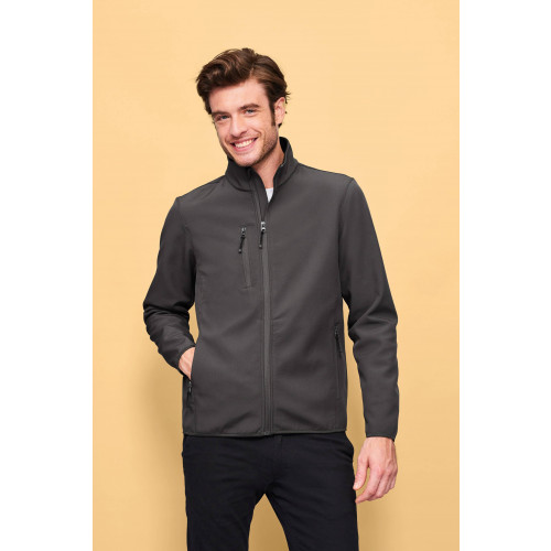 RADIAN MEN'S SOFTSHELL ZIP JACKET