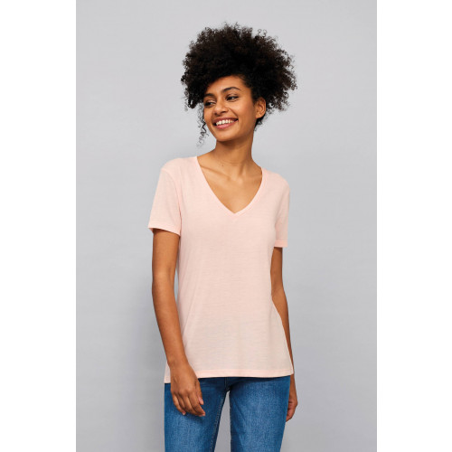 MOTION WOMEN'S V-NECK T-SHIRT
