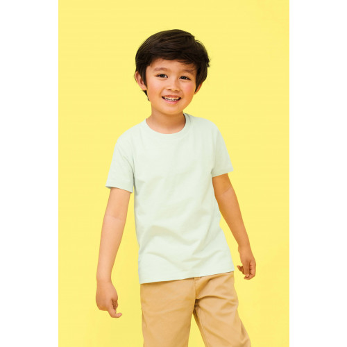 MARTIN KIDS ROUND-NECK FITTED JERSEY T-SHIRT