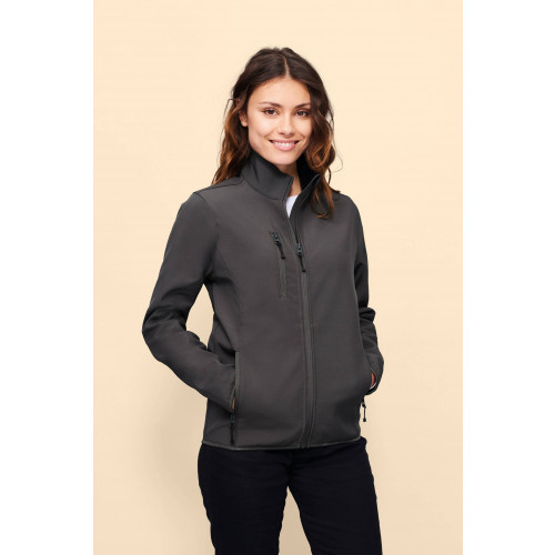 RADIAN WOMEN'S SOFTSHELL ZIP JACKET