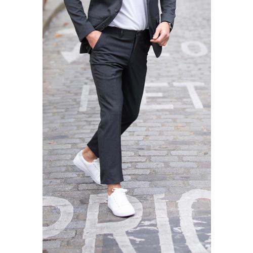 Neo Blu GABIN MEN Suit Pants with Elasticated Belt