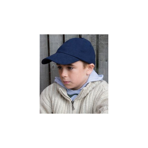 Kids Low Profile Heavy Brushed Cotton Cap