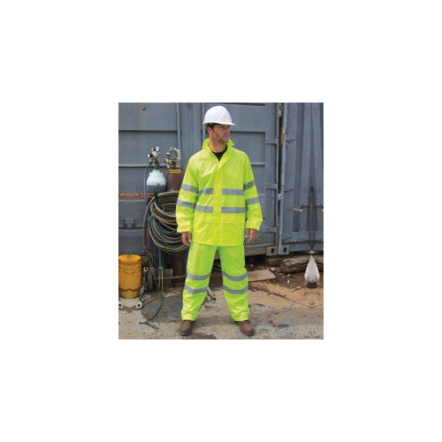 Safe-Guard Hi-Vis Waterproof Suit