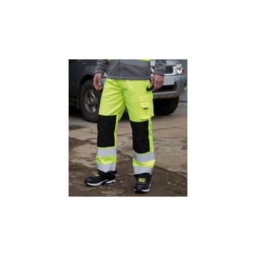 Safe-Guard Hi-Vis Cargo Trousers