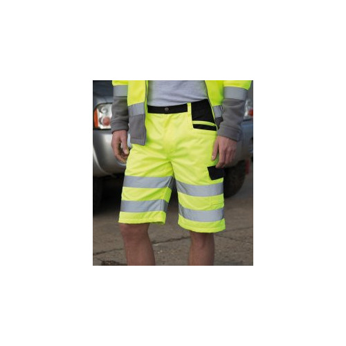 Safe-Guard Hi-Vis Cargo Shorts