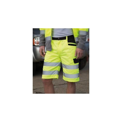 Safe-Guard Hi-Vis Cargo Shorts