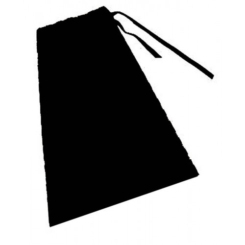 Chef's Apron Black  No Pocket