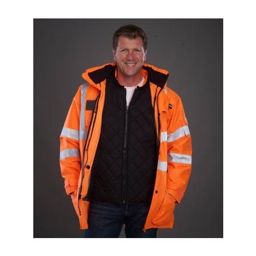 Hi-Vis Multi Function 7-in-1 Jacket