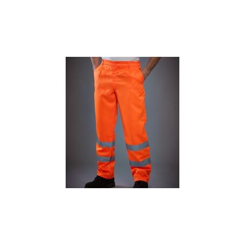 Hi-Vis Poly/Cotton Work Trousers
